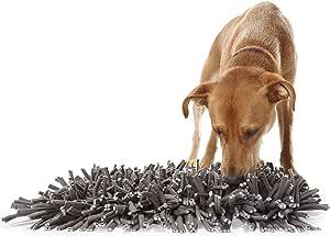PAW5:Wooly Snuffle Mat - 狗狗喂食垫(12 英寸 x 18 英寸)- 鼓励自然觅食技巧 - 易于填装 - 使用有趣设计 - 耐用可机洗 - 适合任何品种