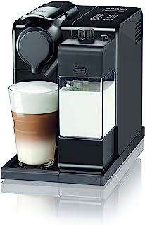 De'Longhi 德龙 Nespresso Lattissima Touch EN 560.B 胶囊咖啡机,配有牛奶系统,滴停功能,可单独调节咖啡和牛奶的量,19巴泵压,黑灰色