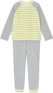 【une nana cool】睡衣套装 条纹天鹅绒 女士