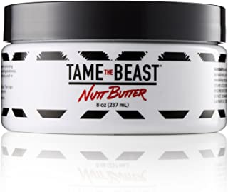 Nutt Butter 男士乳液适用于球、臀部和身体 - 精油 Tucalyptus、Aloe、Cocoa、维生素 E - *、抗擦伤霜、防干皮肤、抗压 Tame the Beast 的抗撕裂