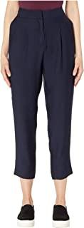 Vince Camuto 女式修身前褶褶边Rumple 长裤