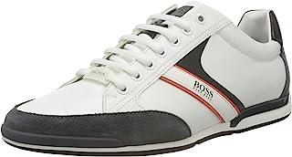 BOSS 雨果·博斯 男式 Saturn_Lowp_mx 运动鞋, Open Gray63, 6 UK Saturn_lowp_mx