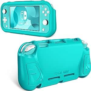 Fintie 手机壳 适用于 Nintendo Switch Lite 2019 - 儿童友好 [超轻] [防震] 防刮保护壳 w/人体工程学抓握舒适 Switch Lite 控制台