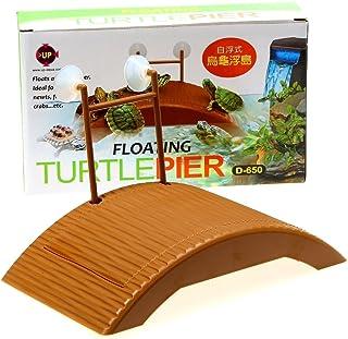 Turtle Pier Floating - 水族箱爬行动物小乌龟青蛙码头浮动篮筐