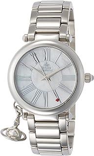 Vivienne Westwood 维维安 韦斯特伍德 手表 ORB 白色外壳 表盘 不锈钢 石英 VV006PSLSL 女士