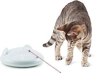 PetSafe FroliCat 猫咪玩具,自动互动激光灯玩具 白色 15.4940 cm x 15.4940 cm x 6.8072 cm