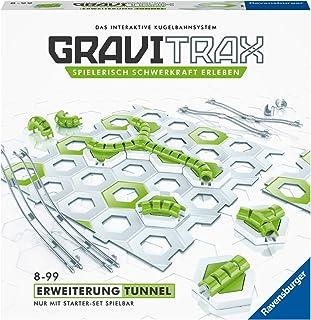 Ravensburger 睿思 GraviTrax 扩展隧道 - 出色的滚珠轨道的理想配件 建筑玩具 适合 8 岁以上儿童