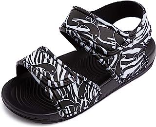 幼儿男孩女孩凉鞋儿童沙滩涉水鞋可爱露趾夏季平底凉鞋
