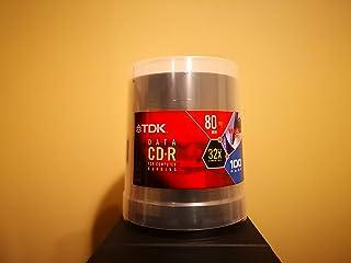 TDK CDR Media 32x 80min 700MB 蛋糕盒(100 件装)