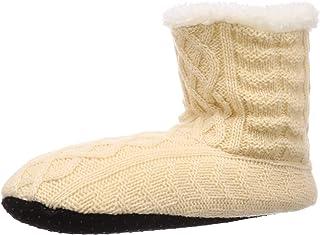 Atsugi 内起绒 绞花图案 室内靴 warm×warm 温暖温暖 居家 RWA2116