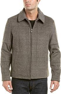 HART SCHAFFNER MARX 男式 Raider 羊毛 James Dean 夹克 烟灰色 Medium