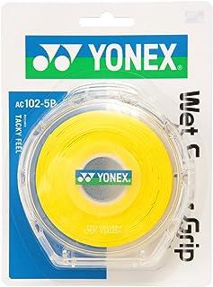 Yonex(Yonex) 吸汗*把手 5支装(5支装) 黄色(004) -