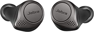 Jabra Elite 75t Earbuds – Alexa Enabled, True Wireless Earbuds with Charging Case, Titanium Black – Bluetooth Earbuds with...