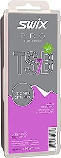 TS07B-18 - *速度蜡 - TS7B 黑色 - 18 至 2.2 °C - 180 克棒 - 无氟 - 滑雪或滑雪板 - FIS 认证 - 人造雪