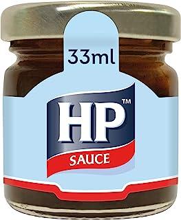 HP Brown Sauce, 33 ml (Pack of 80 glass mini jars)