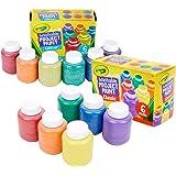 Crayola 绘儿乐 耐洗的儿童颜料,包括12支闪光颜料