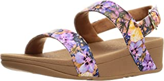 FitFlop 凉鞋 LOTTIE FLOWERCRUSHBACK-STRAP SANDALS 女士