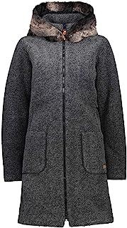 CMP 女士羊毛派克大衣 Eco Fur