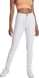 Urban Classics 女士高腰紧身牛仔裤经典长裤