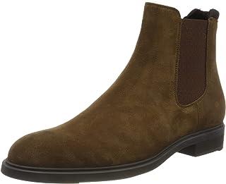 BOSS 男士 Firstclass_cheb_sd 切尔西靴 Medium Brown210 40 EU