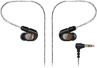 Audio-Technica铁三角ATH-E40专业工作室入耳式监听耳机 黑色