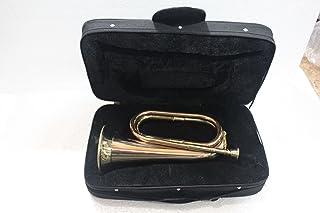Queen Brass Bugle 黄铜带气囊仪器 W/表壳 金色