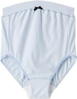 Rosemadame 孕妇包内裤 narue/Narue*【条纹图案】《内衣/温柔棉材质的妈妈也可放心/产准备》 107-7307-01 萨克斯 M-L