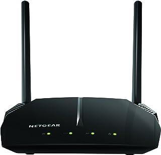 NETGEAR 网件 R6400-100UKS (802.11ac) 双频千兆智能 Wi-Fi 路由器(外接天线可增加 Wi-Fi 速度直达 450 Mbps + 1300 Mbps)