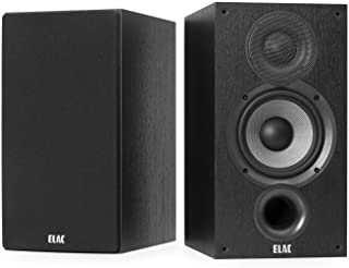 Elac 意力 Debut 2.0 B5.2 书架音箱,黑色(一对)