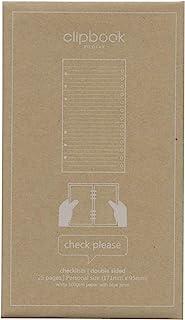 Filofax 活页文件夹 系统记事本 替换装 TODO清单 白色 344005