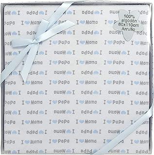 Duffi Baby 5640-12 印花织物玩具,纯棉,80 x 110 厘米