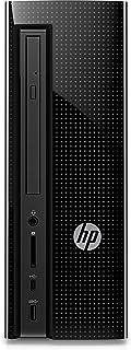 HP Slimline 270-p043w 台式机塔 PC - 英特尔酷睿 i3-7100 3.9GHz 8GB RAM 1TB HD DVDRW 无线键盘和鼠标 Windows 10