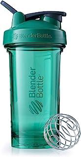 BlenderBottle Pro24 Tritan Protein Shaker   Wasserflasche   Sportflasche   Diät Shaker   710ml - emerald green