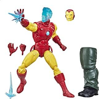 Hasbro 孩之宝 漫威传奇系列 6 英寸(约15.24厘米)收藏品 托尼·斯塔克 (A.I.) 4 岁及以上可动人偶玩具