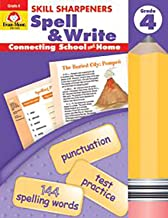 Skill Sharpeners Spell & Write, Grade 4