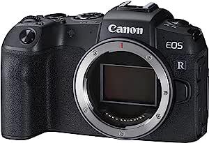 Canon 佳能 EOS RP - 小巧、轻便、直观的全框镜子小摄像头,2620 万像素,双像素 CMOS AF,Eye AF,静音拍摄,4K 电影和用于博客的变焦触摸屏