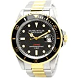 DANIEL MULLER 手表 全不锈钢 10个大气压防水 潜水表 DM-2018系列