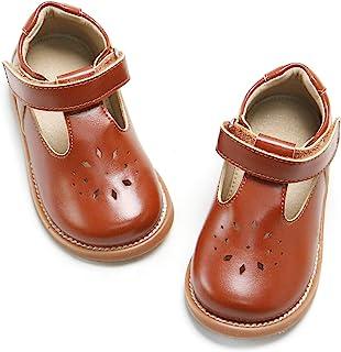 THEE BRON 女童系带玛丽珍校服正装鞋