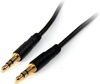 15 ft 超薄 3.5mm 立体声音频线 - m/m