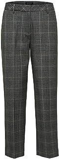 SELECTED FEMME 女式 Slfemilo Mw 七分裤 MGM 格子 B 长裤