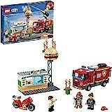 LEGO 乐高 城市系列 汉堡店消防救援 60214 积木 玩具 男孩 车