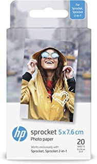 HP惠普 打印相纸 照片纸 快照 2 x 3英寸 20张