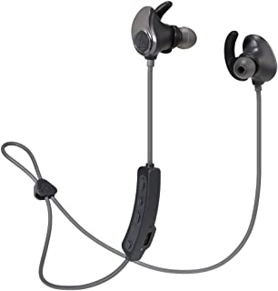audio-technica SONICSPORT 无线耳机 防水 / 运动 内置4GB内存 蓝牙遥控/带麦克风 金属黑色 ATH-SPORT90BT BK