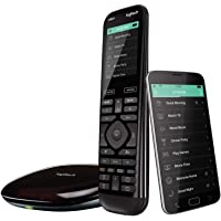 Logitech 罗技 Harmony Elite遥控器,带集线器和应用程序,可与Alexa,Black一起使用