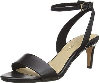 Clarks 女士 Amali Jewel 系带高跟鞋