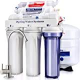 iSpring 爱诗普霖 RCC7AK 6级 精致口感 高容量 水槽下 反渗透 饮用水过滤系统 碱性补充矿质 - 天然…