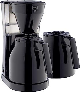 Melitta 美乐家 Easy Therm 滴漏式咖啡机 紧凑型设计 黑色 1023-061