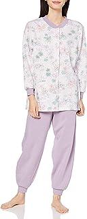 GUNZE 郡是 睡衣 长袖圆领 长袖圆领长裤 抓绒内里 女士