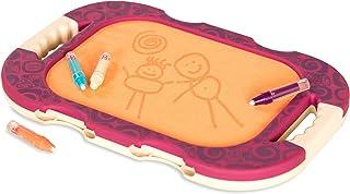 B. toys 水涂鸦便携式绘图板–儿童绘画写作涂鸦板玩具–完美的学步旅行玩具,无毒–彩色涂鸦绘图游戏和魔术水笔