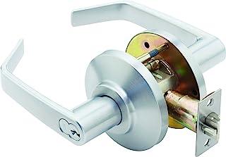 Stanley Best 7KC 37 D 15D S3 626 7 针轮廓角度回流中型锁具,Storeroom,绸缎铬,2 英寸
